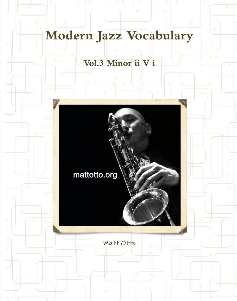 Modern Jazz Vocab. Vol. 3