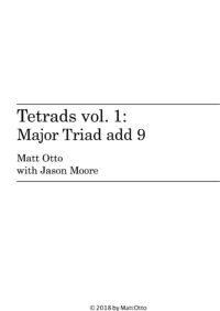 ~New Book: Tetrads: Triad add 9